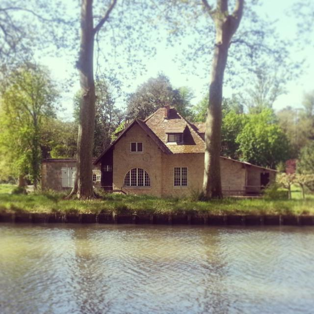 House along the Canal du Midi